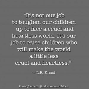 toughen up children